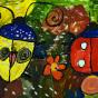 """25.04.2018 / """"Жук"""" в Творческой студии. Автор работы: Туманова Алёна (7 лет)"""