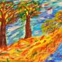 """27.09.2018 / Тема """"Золотая осень"""" в Библиотеке Удельнинской (Группа №2)"""