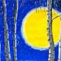"""20.12.2018 / Тема """"Лунная ночь"""" в Библиотеке Удельнинской (Группа №2)"""