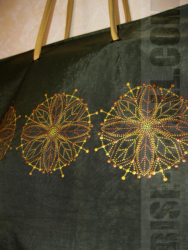 СУМКА / ЦВЕТЫ-ЛИСТЬЯ (арт. 000067)