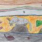 """18.06.2019 / """"Землеройка"""". Автор работы: Сергеева Анастасия (6 лет)"""