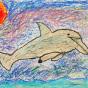 """10.12.2019 / """"Дельфин"""". Автор работы: Кузнецов Сергей (6 лет)"""