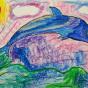 """10.12.2019 / """"Дельфин"""". Автор работы: Ижболдина Мария (8 лет)"""