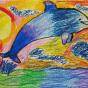 """15.12.2019 / """"Дельфин"""". Автор работы: Шипулина Маргарита (7 лет)"""