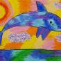 """15.12.2019 / """"Дельфин"""". Автор работы: Федорова Алиса (9 лет)"""