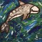 """18.12.2019 / """"Серый дельфин"""". Автор работы: Кузнецов Сергей (6 лет)"""