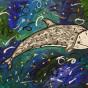 """18.12.2019 / """"Серый дельфин"""". Автор работы: Ижболдина Мария (8 лет)"""