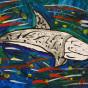 """24.12.2019 / """"Серый дельфин"""". Автор работы: Патрикеева Дарья (6 лет)"""
