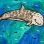 "24.12.2019 / ""Серый дельфин"". Автор работы: Кадакова Анна (9 лет)"