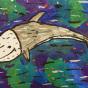 """24.12.2019 / """"Серый дельфин"""". Автор работы: Упорова Алиса (9 лет)"""