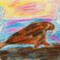"""24.12.2019 / """"Морж"""". Автор работы: Ижболдина Мария (8 лет)"""