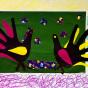 """25.11.2017 / """"Индюки"""" в Творческой студии. Автор работы: Мулгачёва Инна (7 лет)"""
