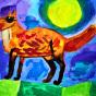 """13.12.2017 / """"Лиса"""" в Творческой студии. Автор работы: Мулгачёва Инна (7 лет)"""