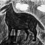 """16.12.2017 / """"Волк"""" в Творческой студии. Автор работы: Клемин Лев (8 лет)"""