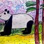 """10.02.2017 / """"Панда"""" в Творческой студии. Автор работы: Титова Анастасия (7 лет)"""
