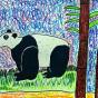 """11.02.2017 / """"Панда"""" в Творческой студии. Автор работы: Лёхова Кира (11 лет)"""