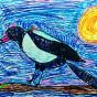 """10.03.2018 / """"Сорока"""" в Творческой студии. Автор работы: Упорова Алиса (8 лет)"""