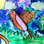"""13.03.2018 / """"Зарянка"""" в Творческой студии. Автор работы: Мулгачёва Инна (7 лет)"""