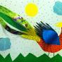 """20.03.2018 / """"Фазан"""" в Творческой студии. Автор работы: Ижболдина Мария (7 лет)"""