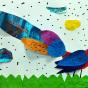 """21.03.2018 / """"Фазан"""" в Творческой студии. Автор работы: Козлова Ксения (7 лет)"""