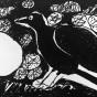 """28.03.2018 / """"Ворон"""" в Творческой студии. Автор работы: Козлова Ксения (7 лет)"""