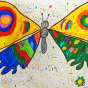 """31.03.2018 / """"Бабочка"""" в Творческой студии. Автор работы: Клемин Лев (8 лет)"""