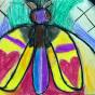 """17.04.2018 / """"Ночной мотылек"""" в Творческой студии. Автор работы: Мулгачёва Инна (7 лет)"""