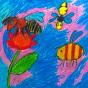 """21.04.2018 / """"Пчела, оса, шмель"""" в Творческой студии. Автор работы: Миклухо-Маклай Алёна (лет)"""
