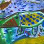 """19.05.2018 / """"Щука"""" в Творческой студии. Автор работы: Клемин Лев (8 лет)"""