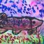 """19.05.2018 / """"Щука"""" в Творческой студии. Автор работы: Титова Анастасия (7 лет)"""