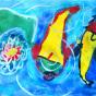 """23.05.2018 / """"Карпы"""" в Творческой студии. Автор работы: Козлова Ксения (7 лет)"""