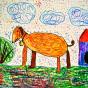 """06.11.2018 / """"Собачка"""". Автор работы: Рослякова Мария (6 лет)"""