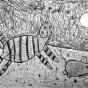 """29.12.2018 / """"Кошки-мышки"""". Автор работы: Рослякова Мария (6 лет)"""