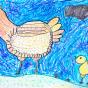 """26.01.2019 / """"Курочка"""" в Творческой студии. Автор работы: Кляшторный Андрей (8 лет)"""