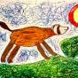 """05.02.2019 / """"Хорек"""". Автор работы: Рослякова Мария (6 лет)"""