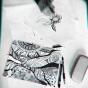 """16.09.2017 / Мастер-класс """"Дудлинг"""" в Творческой студии. Автор работы: Сиротенко Марина Болеславовна"""