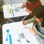 """10.10.2017 / Мастер-класс """"Зентангл"""" в Творческой студии"""