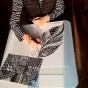 """17.10.2017 / Мастер-класс """"Перо"""" в Творческой студии. Автор работы: Сиротенко Марина Болеславовна"""