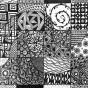 """25.02.2018 / """"Zentangle"""" в Творческой студии. Автор работы: Евстигнеева Анна Германовна"""