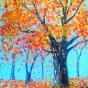 """03.04.2018 / """"Осень"""" в Творческой студии. Автор работы: Кузьмина Марина Акоповна"""