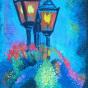 """10.04.2018 / """"Зарисовка пастелью"""" в Творческой студии. Автор работы: Сиротенко Марина Болеславовна"""