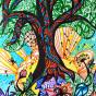 """18.07.2018 / """"Дерево"""" в Творческой студии. Автор работы: Жарова Светлана Борисовна"""