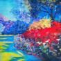 """04.09.2018 / """"Пейзаж гуашью"""" в Творческой студии. Автор работы: Евстигнеева Анна Германовна"""