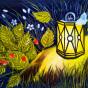 """27.11.2018 / """"Фонарик"""", жидкое масло. Автор работы: Кузьмина Марина Акоповна"""