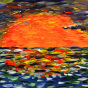 "09.07.2017 / Мастер-класс ""Закат на море"" в Библиотеке ""СВОя"""