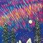 """09.08.2018 / Тема """"Северное сияние"""" в Библиотеке Удельнинской"""
